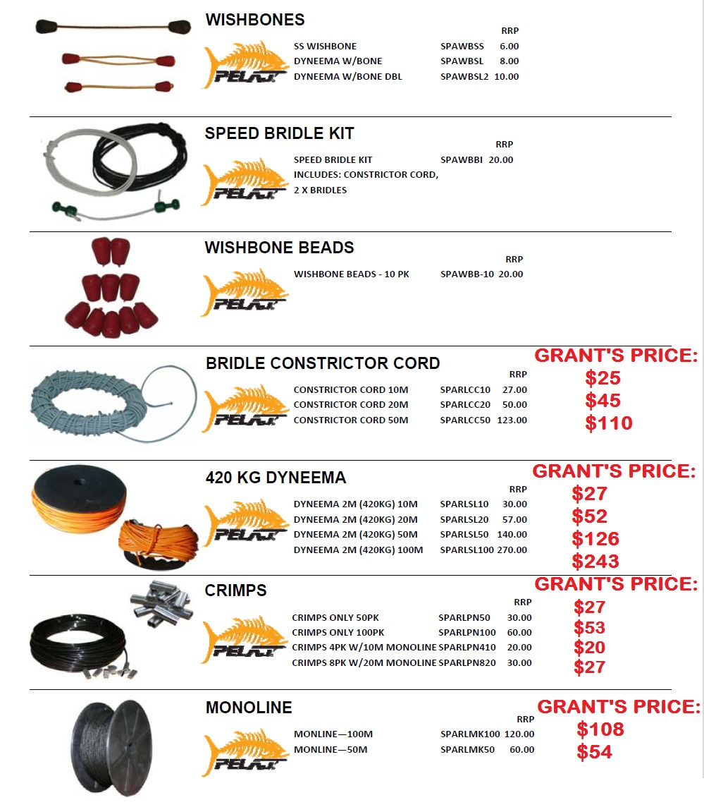 PELAJ ACCESSORIES AND SPARES